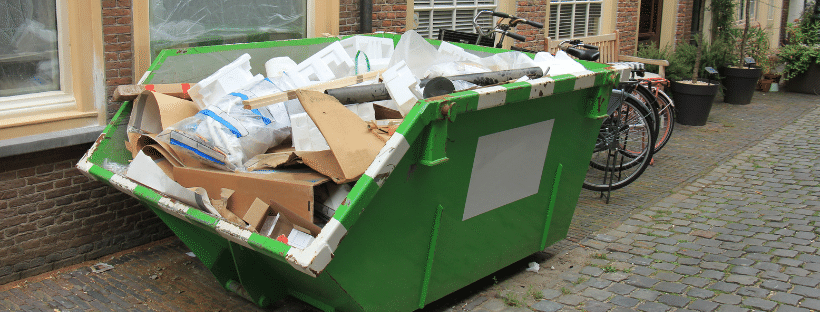 Dumpster rentals in fall fiver