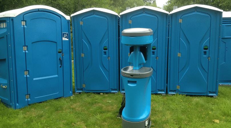 Portable Hand Washing Station Rentals