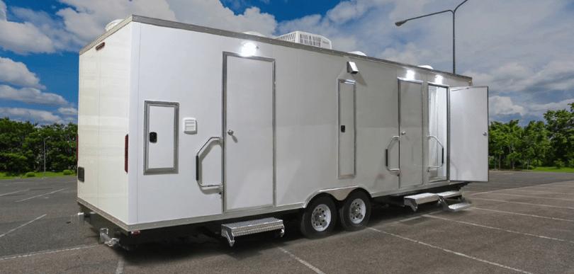 portable shower trailer rentals
